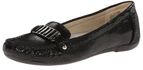 AK Anne Klein Women's Nearme Reptile Slip-on Loafer.