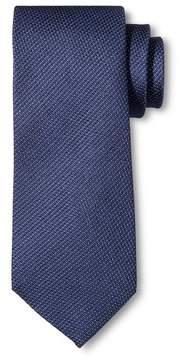 Merona Men's Tie Navy Pindot