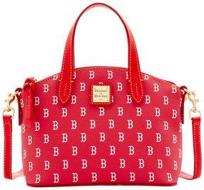 Dooney & Bourke Boston Red Sox Ruby Mini Crossbody Satchel - RED/RED - STYLE