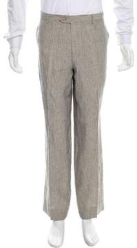 Luciano Barbera Striped Linen Pants