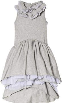 Nununu Heather Grey Victorian Dress
