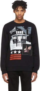 Givenchy Black L.A. House Sweatshirt
