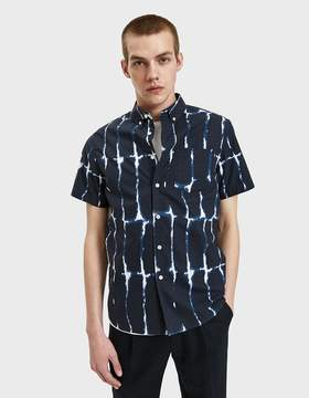 Saturdays NYC Esquina Water Stack Shirt in Midnight