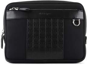 Salvatore Ferragamo Black Fabric Bag