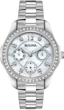 Bulova Women's Stainless Steel Bracelet Watch 36mm