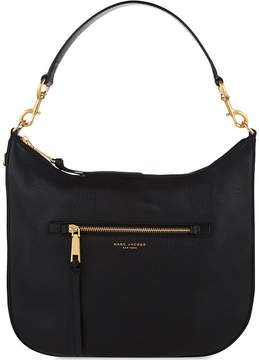 Marc Jacobs Recruit leather hobo shoulder bag - BLACK - STYLE