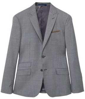 Mango Outlet Slim-fit wool suit blazer