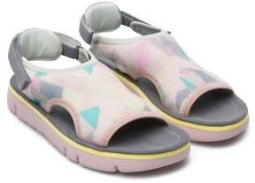 Camper TWS Platform Open Toe Sandal