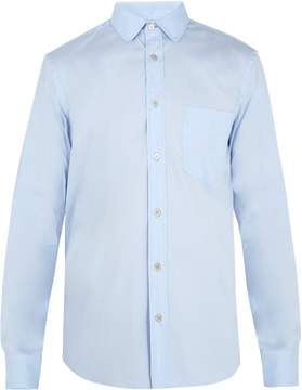 Paul Smith Single-cuff cotton-blend shirt