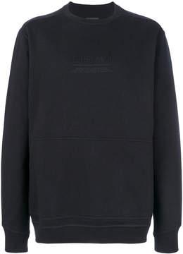 MHI embroidered front sweatshirt