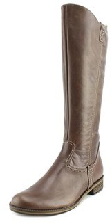 Gabor 32.793 Knee High Women W Round Toe Leather Brown Knee High Boot.