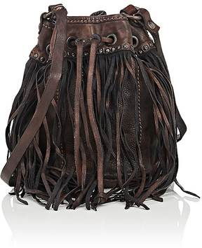 Campomaggi CAMPOMAGGI WOMEN'S FRINGED BUCKET BAG