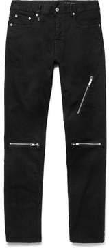 Marc Jacobs Slim-Fit Zipped Stretch-Denim Jeans