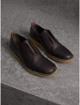 Burberry Raised Toe-cap Leather Brogues