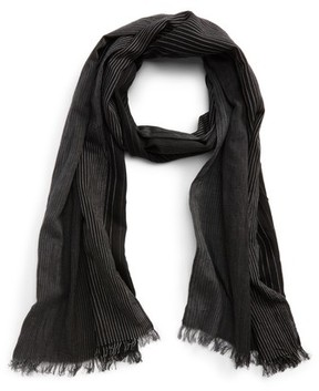 John Varvatos Men's Ombre Cotton & Silk Scarf