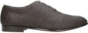 Ermenegildo Zegna Browne Leather Laceup