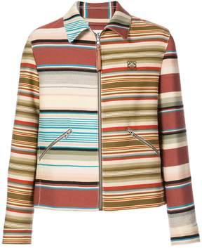 Loewe striped zip jacket