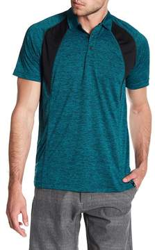 Burnside Spread Collar Raglan Polo