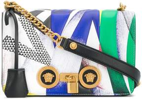 Versace foldover Medusa shoulder bag