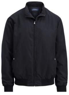 Ralph Lauren Packable Windbreaker Polo Black 2X Big