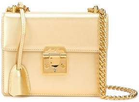 Mark Cross metallic box bag