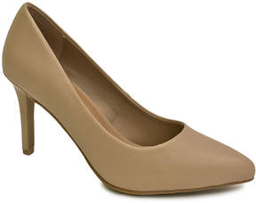 Bamboo Nude Fiction Pump