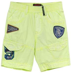 Catimini Straw Patch-Accent Bermuda Shorts - Boys