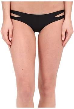 Luli Fama Cosita Buena Reversible Zigzag Open Side Moderate Bottom Women's Swimwear