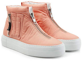 Joshua Sanders Fabric Sneakers with Zippers