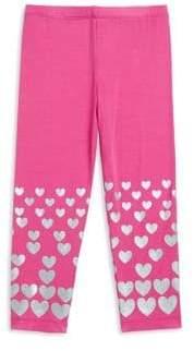 Design History Toddler's& Little Girl's Heart Leggings
