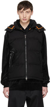Junya Watanabe Black The North Face Edition Down Puffer Vest