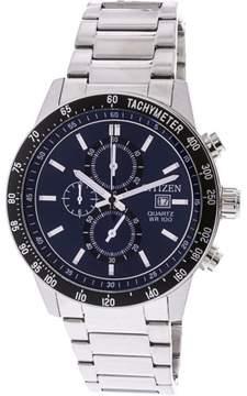 Citizen Men's AN3600-59L Silver Stainless-Steel Japanese Quartz Fashion Watch
