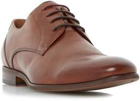 Dune London ROYSTON - TAN Plain Toe Leather Gibson Shoe
