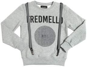 Fred Mello Cotton Sweatshirt W/ Suspenders