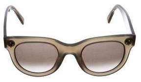 Celine Tinted Cat-Eye Sunglasses