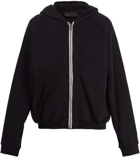 Haider Ackermann Zip-through hooded jacket