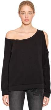RtA Willow Destroyed Cotton Sweatshirt