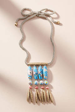 Anthropologie Painted Skies Pendant Necklace