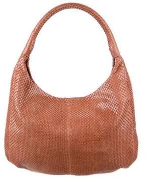 Devi Kroell Snakeskin Hobo Bag