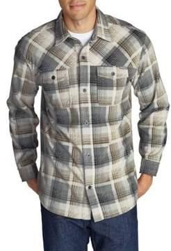 Eddie Bauer Chutes Casual Button-Down Shirt