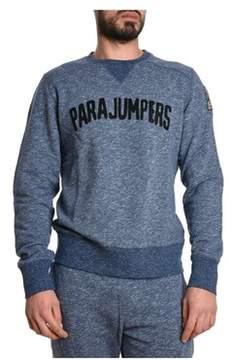 Parajumpers Men's Blue Cotton Sweatshirt.