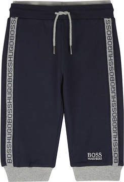 BOSS Logo trim tracksuit bottoms 6-36 months