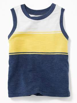 Old Navy Multi-Stripe Muscle Tank for Toddler Boys