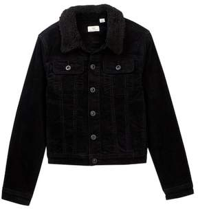 AG Jeans Brody Faux Shearling Collar Jacket (Big Boys)