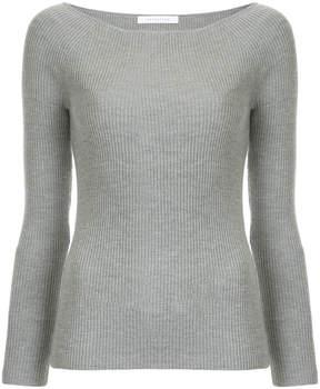 ESTNATION slim-fit long sleeved top