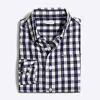 J.Crew Factory Boys' patterned washed shirt