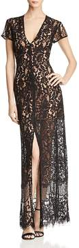 WAYF Savona Lace Maxi Dress