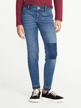 Old Navy Frayed-Hem Rockstar Jeggings for Girls