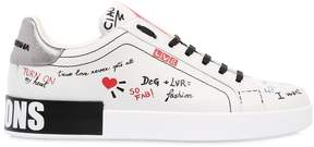 Dolce & Gabbana 20mm Lvr Editions Leather Sneakers