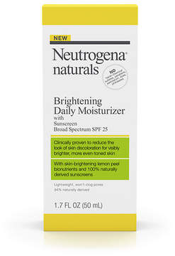 Neutrogena Naturals Brightening Daily Moisturizer with Sunscreen Broad Spectrum SPF 25